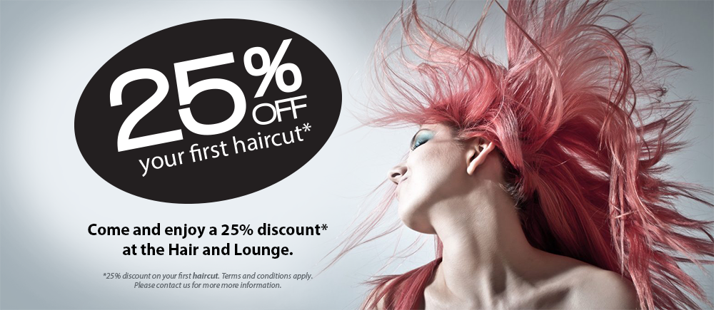 Hair Salon North Brighton - 25% off