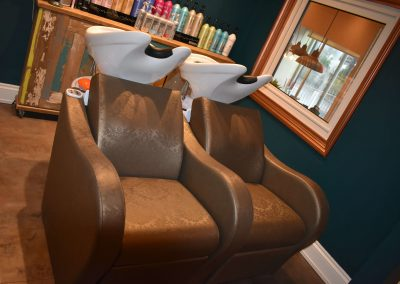 Brighton Hair salon wonky chairs